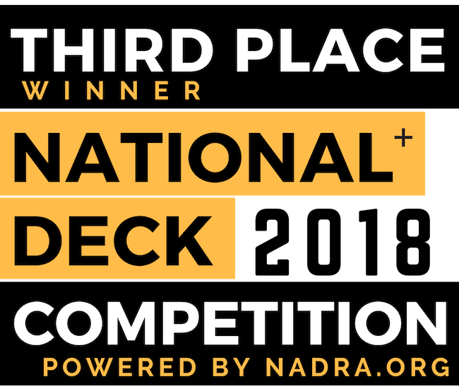 2018 National Deck Competition Third Place Winner